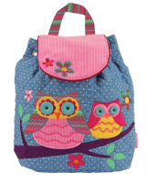 Owl Signature Quilted Backpack